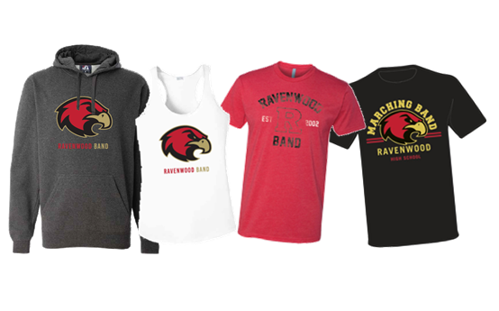 Ravenwood Band Spirit Wear
