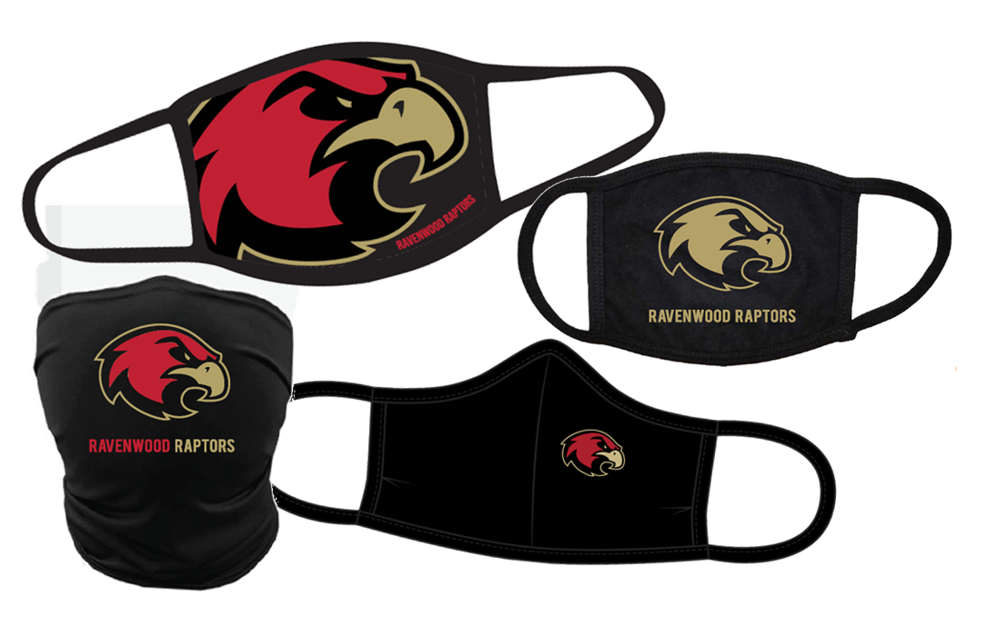 RAVENWOOD RAPTORS Face Coverings