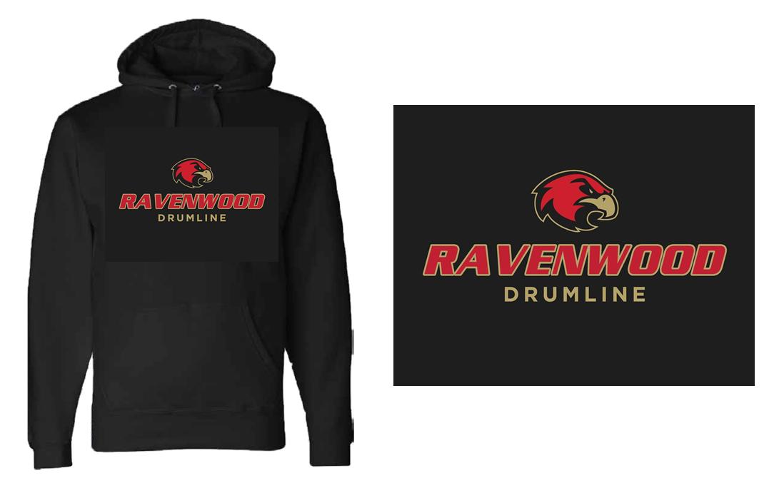 Ravenwood Drumline Hoodie - Black