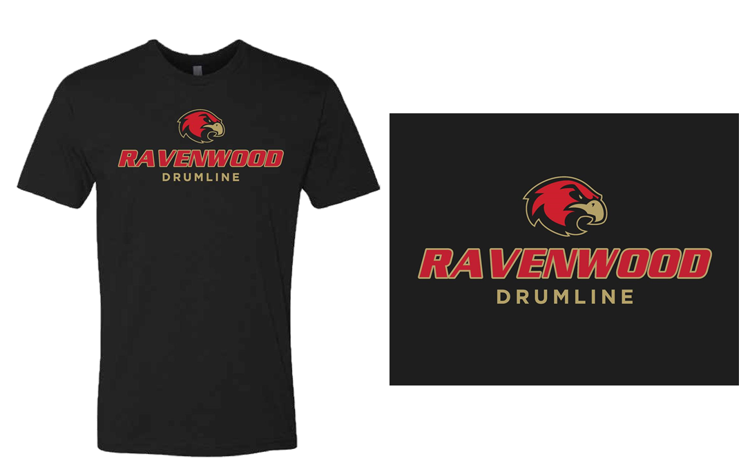 Ravenwood Drumline T-Shirt - Black