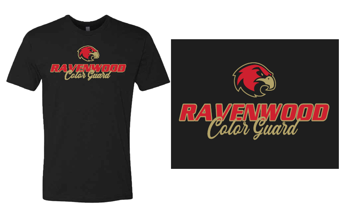 Ravenwood Color Guard T-Shirt - Black