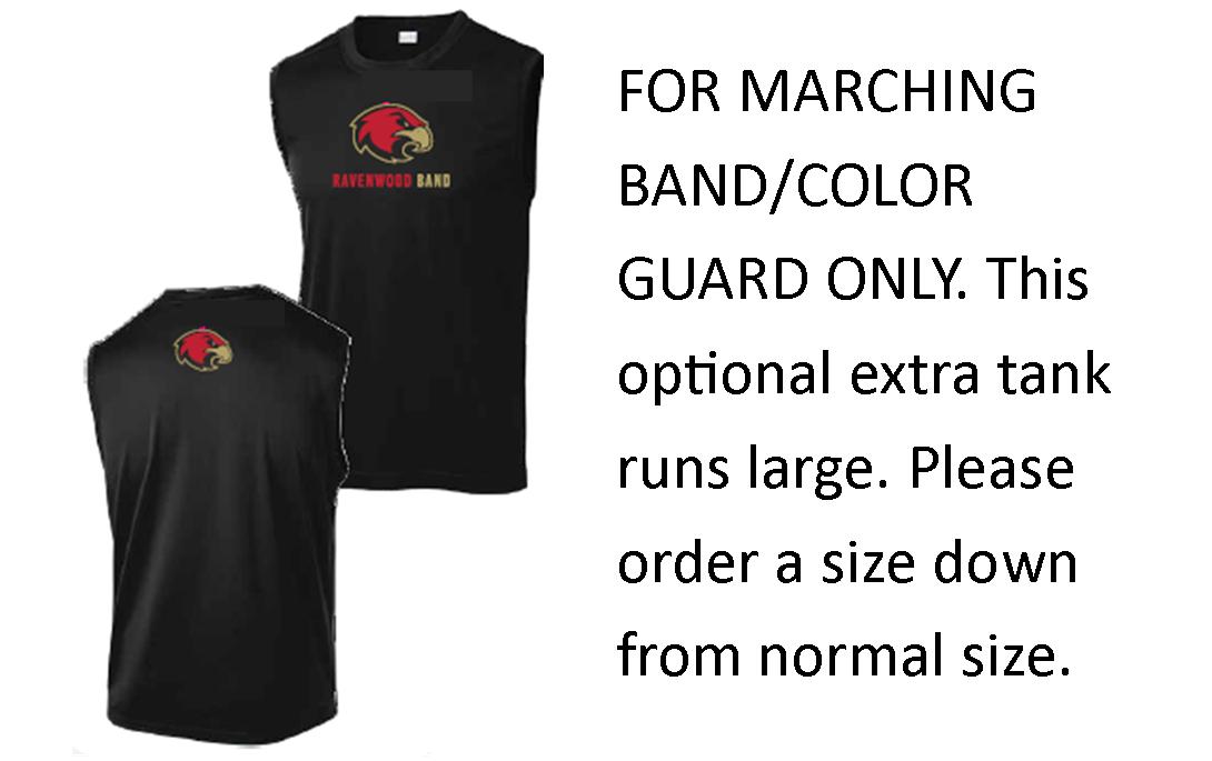 2021 Ravenwood Marching Band Competition Under Uniform Tank (OPTIONAL ADDITIONAL SHIRT)
